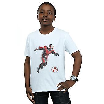 Marvel Boys Avengers Endgame pintado Ant-Man T-shirt