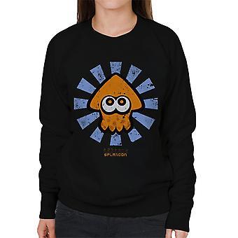 Splatoon Retro Japanerin Frauen Sweatshirt