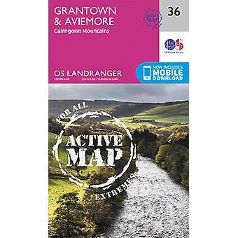 Grantown - Aviemore & Cairngorm Mountains by Ordnance Survey - 978031