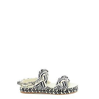 Antolina Paris Ezbc353001 Sandalias de cuero blanco/negro