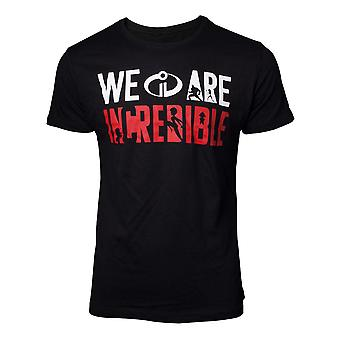 Das T-Shirt We are Incredible Mens Black X-Large (TS077214INC-XL)