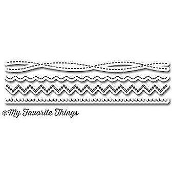 My Favorite Things Die-Namics Homespun Stitch Lines (MFT-776)