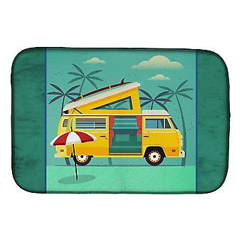 Carolines Treasures  BB5477DDM Greatest Adventure Camper Van Dish Drying Mat