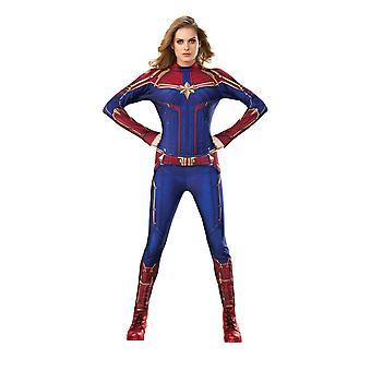 Ladies Captain Marvel Hero Suit