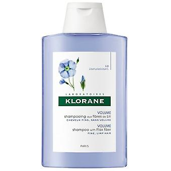 Klorane fibra de linho shampoo 200ml