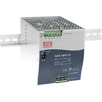 Mean Well SDR-960-48 Rail mounted PSU (DIN) 48 V DC 20 A 960 W 1 x