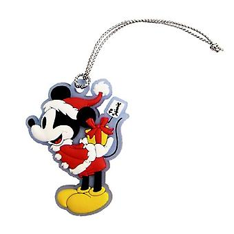 PVC Key Chain - Disney - Retro Mickey Mouse Soft Touch Toys New 24878