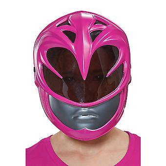 Růžové rangeři Power Rangers film superhrdina dívky kostým vakuová maska