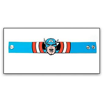 Wristband - Marvel - New Captain America Rubber Die Cut Anime wb170806mvl