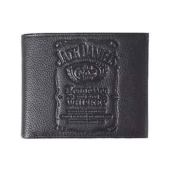 Jack Daniels Wallet Classic Old No 7 Logo Debossed new Official Black Bifold
