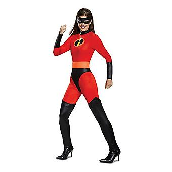 Disguise Women's Mrs. Incredible Classic Adult Costume, red, L, Red, Size 12.0