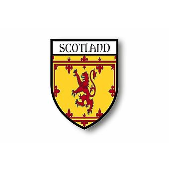 Sticker Sticker Sticker Motorcycle Car Blason City Flag Scotland Royal