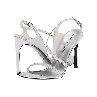 Stuart Weitzman Womens Sensual Fabric Open Toe Ankle Strap Classic Pumps