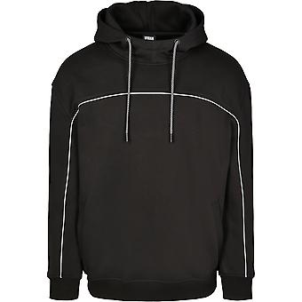 Urban Classics Men's Hooded Sweater Reflective