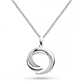 Kit Heath Entwine Helix Pave Zirconia 20 Necklace 90226CZ022