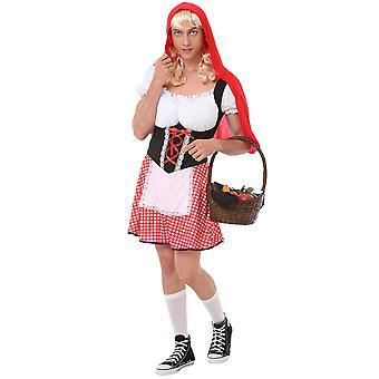 Burly Red Riding Hood, XL