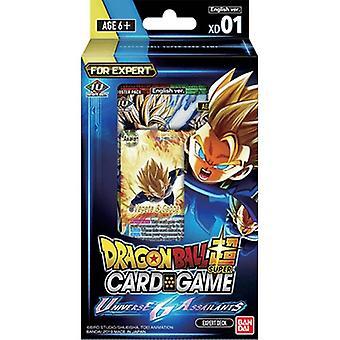 Dragon Ball Super CG XD01 Expert Deck (Pachet de 6)