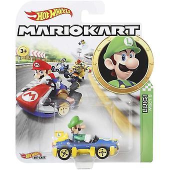 Hot Wheels Mario Kart-Luigi Mach 8