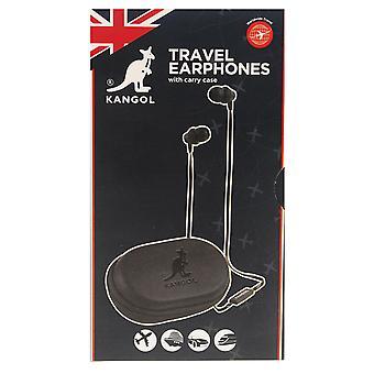 Kangol Unisex Travel Earphones