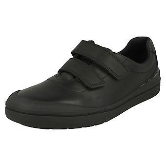 Boys Clarks Smart School Shoes Rock Play