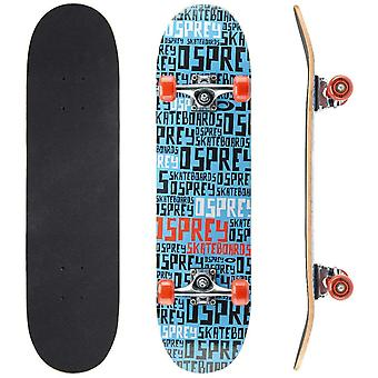 Osprey beginners dubbele kick Trick skateboard-REPEAT