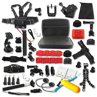 Accessories kit for GoPro Hero - 50 parts