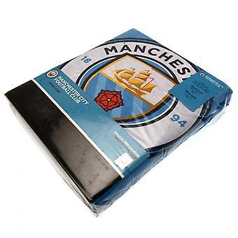 Manchester City FC Pulse Double Duvet Set