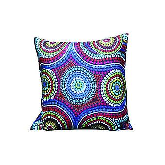 Family Aboriginal Design Cushion Cover