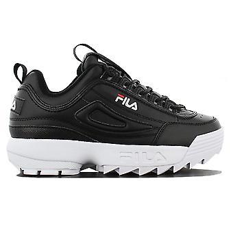 Fila Disruptor Low W 1010302.25Y Damen Schuhe Schwarz Sneakers Sportschuhe