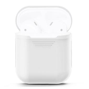 For Apple Airpods Storage Bag White Silicone Protective Box