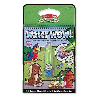 Melissa & Doug Water Wow! Animal Themed Reuseable Painting Book