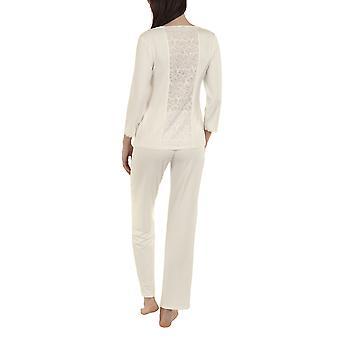 Lisca 23264-CE Frauen's Felicity Creme Pyjama Set