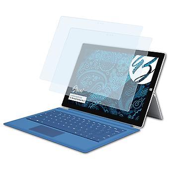 Bruni 2x Pellicola Protettiva compatibile con Microsoft Surface Pro 3 Proteggi Schermo