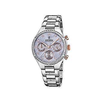Festina chronographe quartz femme montre en acier inoxydable bande F20401/3