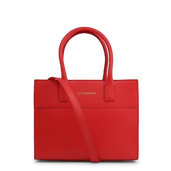 Emporio armani women's bolsa de couro preto y3a115