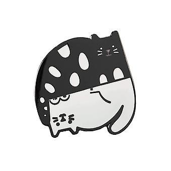 Punky Pins Ying & Yang Pisici Enamel Pin