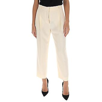 See By Chloé Chs20spa10012119 Women's White Polyester Pants