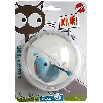 Agrobiothers Rolling Bird Cat Toy (Cats , Toys , Teaser Wands)