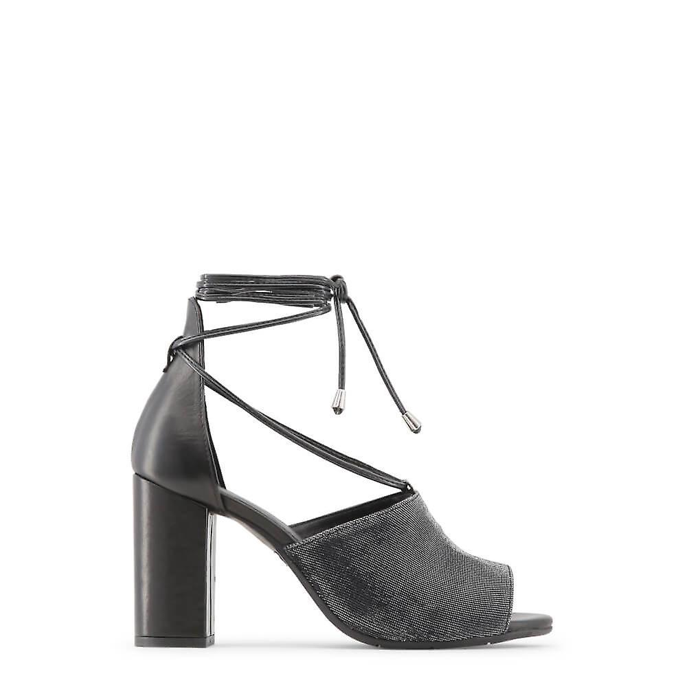 Made in Italia Original Women Spring/Summer Sandals - Black Color 29384 WCReO