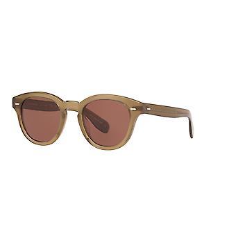 Oliver Peoples Cary Grant OV5413SU 1678/C5 Dusty Olive/Rose Wood Sunglasses