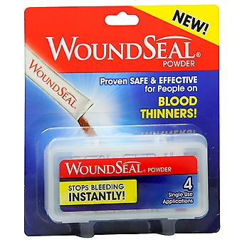 Woundseal powder to stop bleeding applications, 4 ea