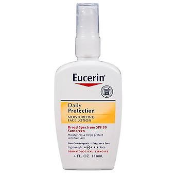 Eucerin daily protection moisturizing face lotion, spf 30, 4 oz