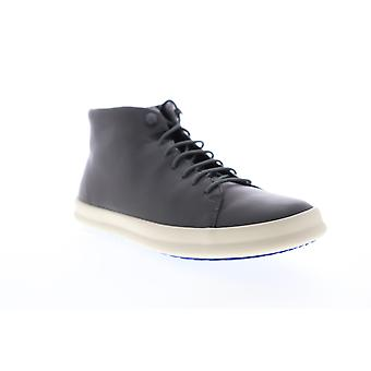 Camper Chasis  Mens Gray Leather Lace Up High Top Sneakers Shoes