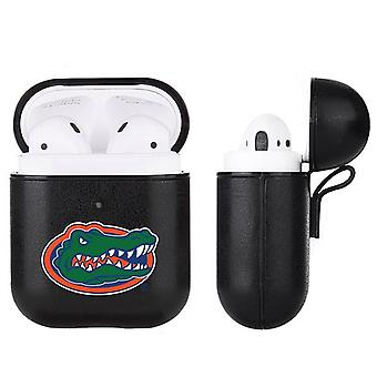 Florida Gators NCAA Fan Brander Zwart lederen AirPod Case