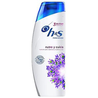 H&S Shampoo Nourishes and Cares Triple Action 270 ml