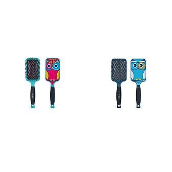 Bifull Owl Paddle Brush For Dogs