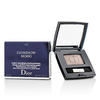 Diorshow mono professional spectacular effects & long wear eyeshadow # 756 front row 212036 2g/0.07oz