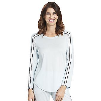 1193759-12604 Femmes-apos;s Pure Glacier Blue Cotton Pyjama Top