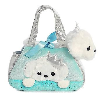 Fancy Pals Peek-A-Boo Princess Puppy 7 Inch Pet Carrier