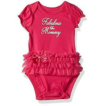 The Children's Place Baby Girls Novelty Graphic Short Sleeve Bodysuit